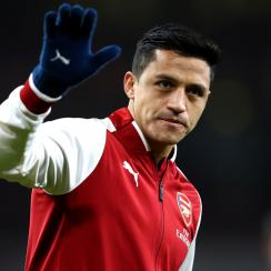 Alexis Sanchez appears on his way out from Arsenal