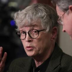 The Michigan State student newspaper, The State News, has called for university president Lou Anna Simon to resign.