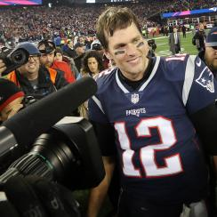Tom Brady and the Patriots are back in the Super Bowl.