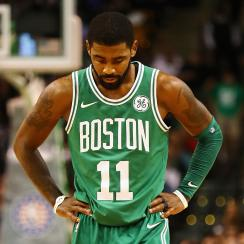 Kyrie Irving reportedly threatened to have knee surgery if the Cavs didn't trade him last summer.