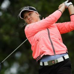 Brooke Henderson shot a five-under 68 in the first round, but only got one hole in (which she bogeyed) before Friday's round was suspended and the tournament was shortened.