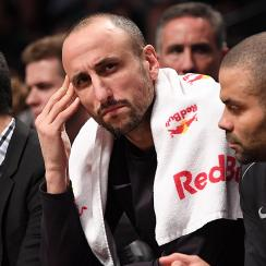 Spurs G Manu Ginobili is son's sixth-favorite player