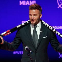 David Beckham has his Miami MLS expansion team