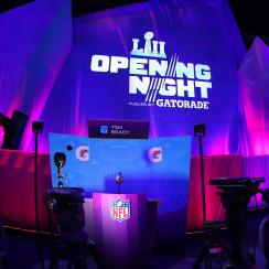 Super Bowl Media Day: Patriots highlights