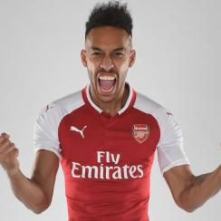 Pierre-Emerick Aubameyang has signed with Arsenal