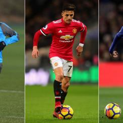 Pierre-Emerick Aubameyang, Alexis Sanchez and Philippe Coutinho were among the stars on the move in the January transfer window