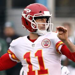 Chiefs fans are thanking Alex Smith by donating to his foundation.