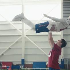 Eli Manning, Odell Beckham commercial: Dirty Dancing video