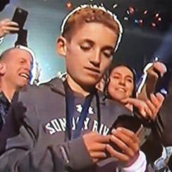 kid on phone meme justin timberlake