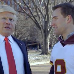 Kirk Cousins-Donald Trump Super Bowl commercial (video)