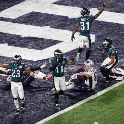 Twitter went wild after the Eagles clinched their first Super Bowl in franchise history.