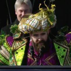 Jason Kelce speech: Eagles C's rant at parade (video)