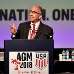 Carlos Cordeiro is the new U.S. Soccer president