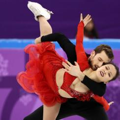 Olympic ice dancing: Korean, Chinese teams skate to Despacito