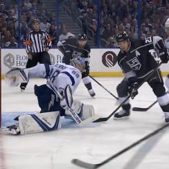 Andrei Vasilevskiy save: Lightning goalie stops Kopitar (video)