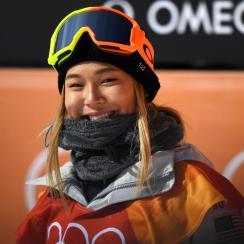 chloe kim snowboarding team usa ice cream tweet