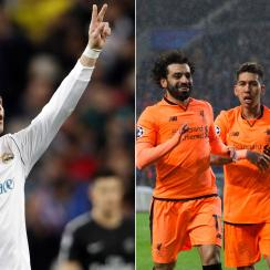 Real Madrid and Liverpool win big in the Champions League