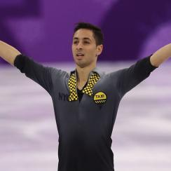 french figure skater, Winter Olympics, 2018 olympics, Chafik Besseghier, france