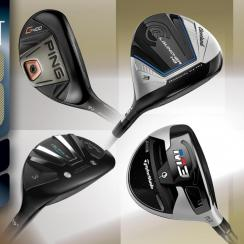 full reviews of 33 new hybrids, fairway woods