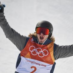 David Wise: Olympic ski halfpipe gold medal winner