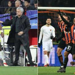 Manchester United draws Sevilla, Shakhtar beats Roma in Champions League