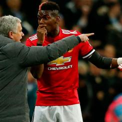 Paul Pogba and Jose Mourinho are reportedly at odds with one another
