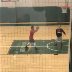 Derrick Rose appears to be shooting in an empty gym alone and it's the saddest thing ever.