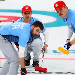 USA upsets Canada in Olympic curling