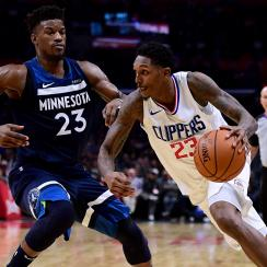 Jimmy Butler implied he's willing to play Lou Williams for $100k after Williams tweeted at him during the All-Star Game.