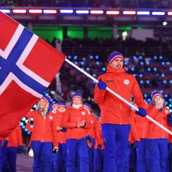 Woman Assumes Olympics Fan Is Flying a Confederate Flag. It Was Norwegian.