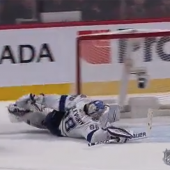 Andrei Vasilevskiy, Andrei Vasilevskiy save, Andrei Vasilevskiy video, Andrei Vasilevskiy lightning, lightning goalie, tampa bay lightning, nhl highlights, Andrei Vasilevskiy repeats save