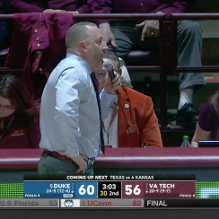 Virginia Tech basketball: Buzz Williams addresses students