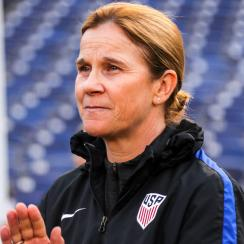 Jill Ellis leads the U.S. women's national team into the SheBelieves Cup