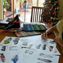 Lilian Cantero designs creative soccer cleats