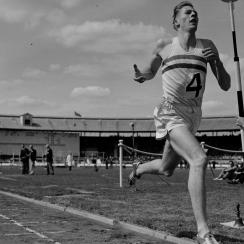 Athletes react to Roger Bannister's death