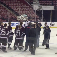Stoneman Douglas hockey team lifts Stanley Cup (video)