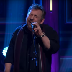 James Dolan's band 'JD and the Straight Shot' performed on The Tonight Show with Jimmy Fallon.