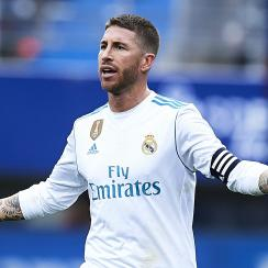 Sergio Ramos had to leave Real Madrid's game because he pooped himself.
