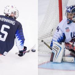 billy hanning, steve cash, 2018 paralympics, 2018 olympics, olympics, 2018 olympics pyeongchang, pyeongchang 2018, us sled hockey team