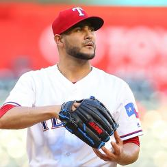 Martin Perez injury: Rangers pitcher ate bull responsible
