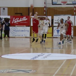 Buzzer-beater in Iceland playoffs, announcer's call (video)