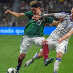 Jonathan Gonzalez will be part of Mexico's squad facing Iceland and Croatia in pre-World Cup friendlies
