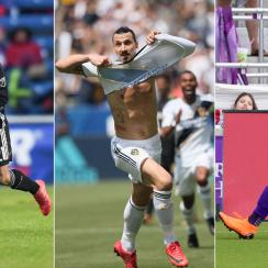 Felipe Gutierrez, Zlatan Ibrahimovic and Dom Dwyer had huge Week 5 performances in MLS