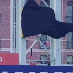 Astros World Series banner reveal goes poorly (video)