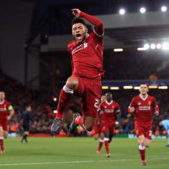 Liverpool routs Manchester City in the first leg of the Champions League quarterfinals