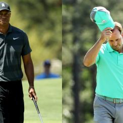 Sergio Garcia Tiger Woods The Masters Augusta