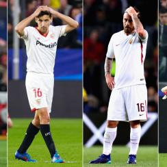 Man City, Sevilla, Roma and Juventus face deficits in the Champions League quarterfinals