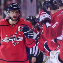 Washington Capitals Alex Ovechkin