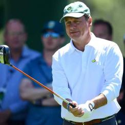 Jeff Knox during one of his appearances as a marker at the Masters