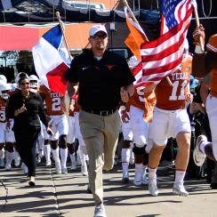 Texas Longhorns football: Tom Herman, Chris Del Conte try to cut red tape